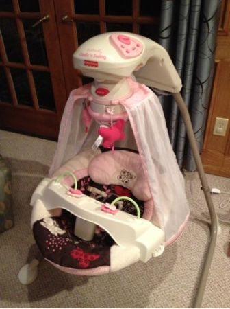 Jeep double umbrella stroller and cradle swing - $60 (Shreveport )