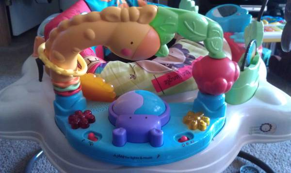 jump-a-roo fisher price - $35 (haughton)