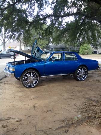 1985 Chevy impala - x00244 (Shreveport)