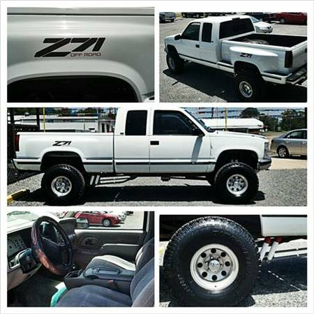 1997 Chevy Z71 4x4 Stepside