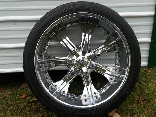 24 inch Rims and Tires - $800 (Shreveport, La)