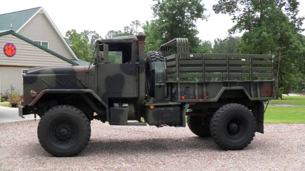 Bobbed 5 ton Military Truck - $12000 (Columbia SC)
