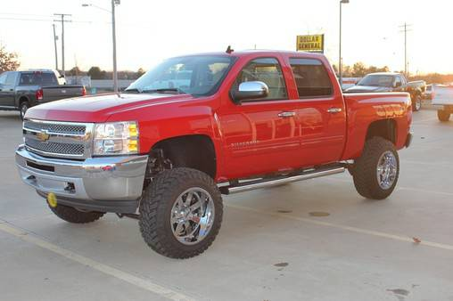 2013 Chevrolet Silverado 1500 LT Z71 LIFTED CREW CAB 4X4 - x002436900 (We Accept Trades and Financing W.A.C.)