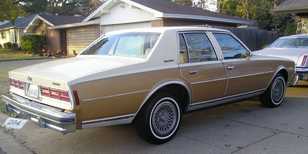 1978 Caprice 1OWNERLOW MILEAGE - $3800 (Ft Worth)