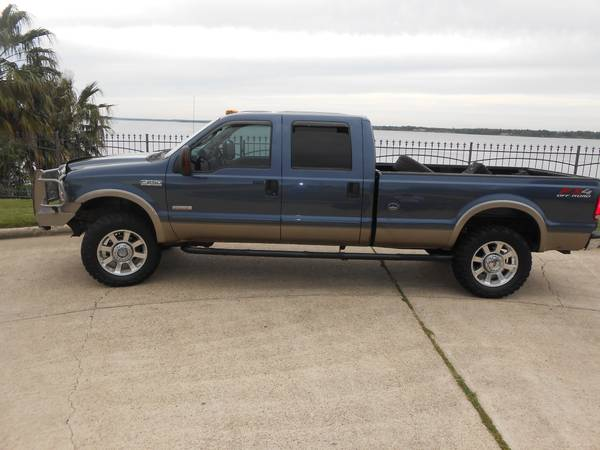 06 Ford F250 6.0L Diesel 4X4 Crew Cab Lariat 3 lift - $15000 (Jet Ski Haven Shreveport)