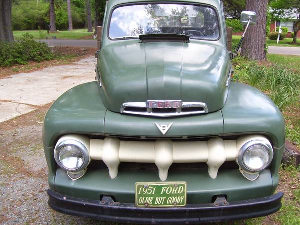 REDUCED1951 FORD F2 V8 - $8500 (SHREVEPORT)