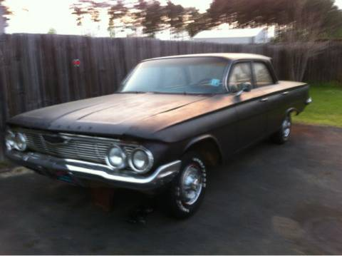 1961 Chevy Biscayne Rat Rod Project - $3000