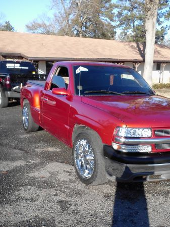 01 silverado REGENCY single cab stepside TRADE only (Shreveport)