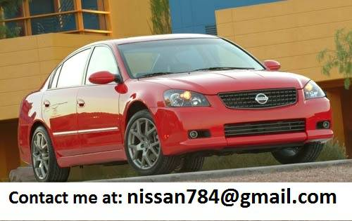 For Sale 2005 Nissan Altima S - $2000 (shreveport)