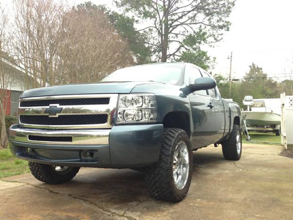 Lifted 2009 Silverado 1500 ECRB - $22999 (West Monroe, LA)