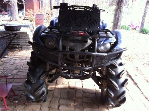 yamaha grizzly 700 sale or trade - $6000