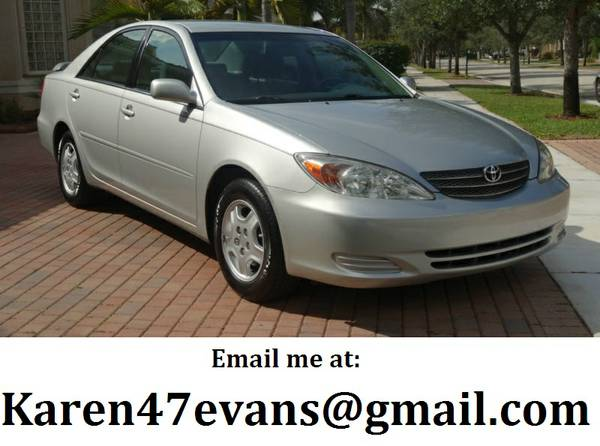 full 2OO3 toyota Camry - $1633