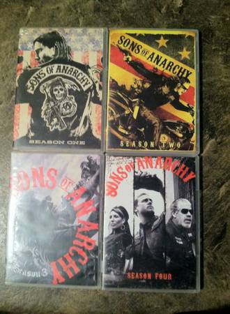 sons of anarchy seasons 1-4  -   x0024 20  Princeton LA
