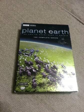 BBC PLANET EARTH DVD Complete Series 5 DVD collection -   x0024 40  Shreveport