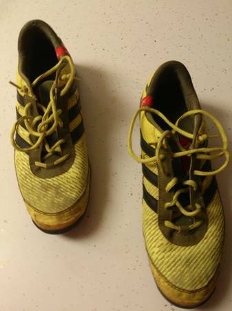 3 pairs of soccer shoes - $35 (Broadmoor)