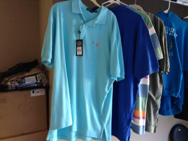 Mens XL Polo shirt - new with tags - $15 (Bossier city)