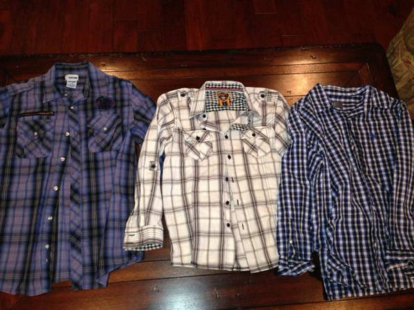 TON of Youth size L and XL Clothes Like New - $40 (Bossier City)