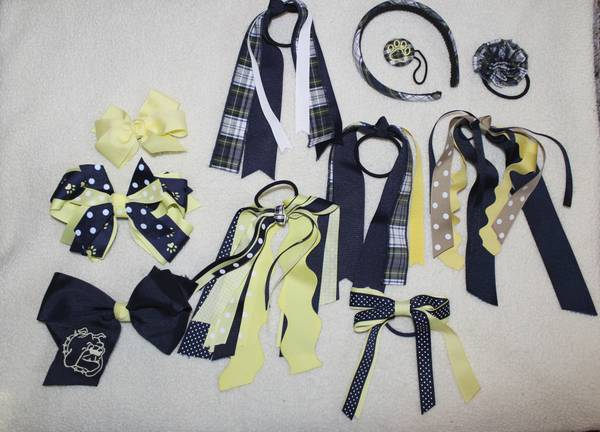 W.T. Lewis Elementary Hair Bows - $30 (Barksdale AFB)