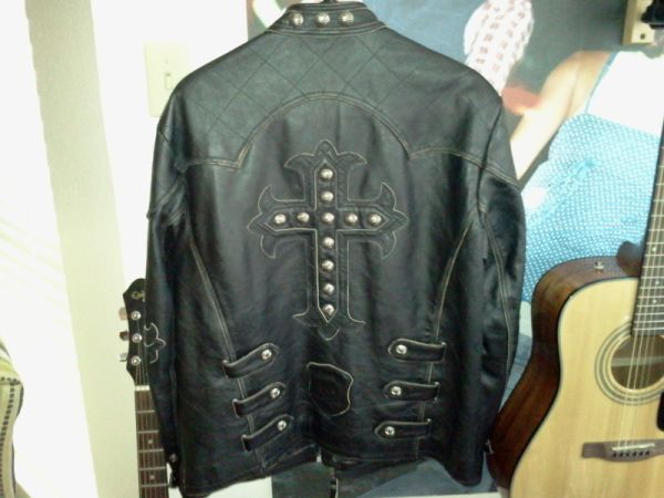 Affliction Leather Jacket - $250 (Bossier City)