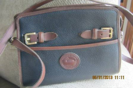 Dooney and Bourke All Weather Leather Equestrian Bag - $40 (North Bossier)