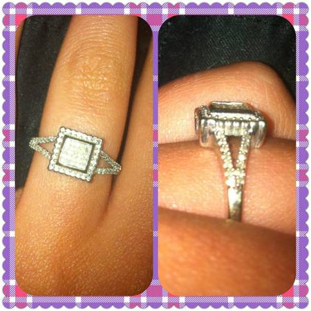 DIAMOND RING FROM ZALES NEED GONE PRICE REDUCED - $150