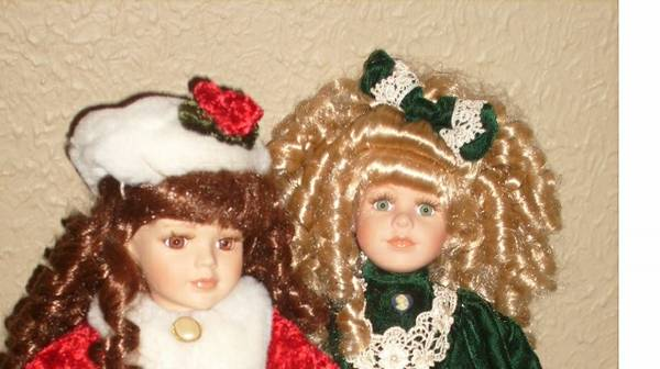 collectable dolls-collectors choice - $5 (shreveport, La-S.Hills)