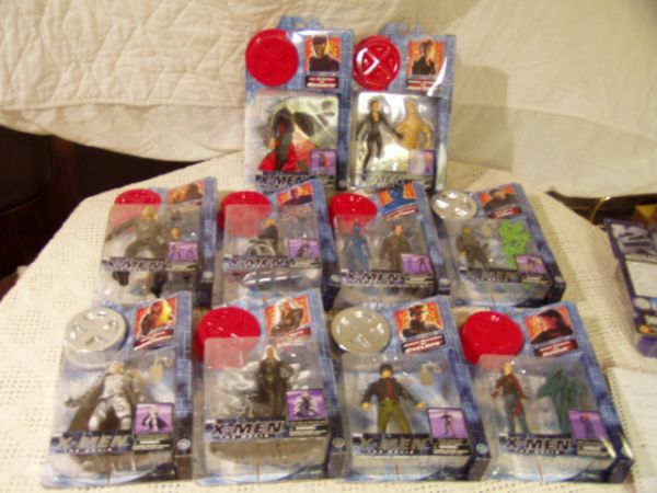 X Men Action Figures 10 pc set - $30 (Bossier City, LA)