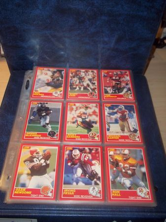 1989 Score Football Card Set 1-330 In Album wSheets Barry Sanders - $80 (Southern Hills)