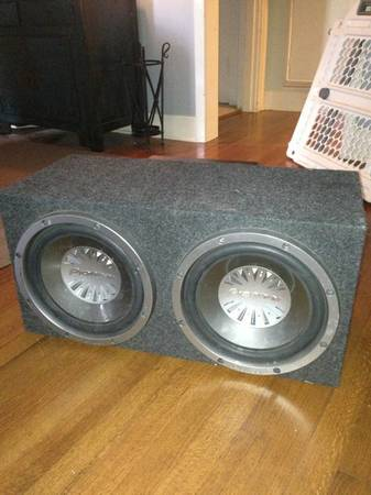 Two 12 inch pioneer subs with pioneer premier - $100 (Shreveport)