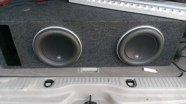 (2) 10 JL W 7 in ported box (trade 4 car audio or $$ (bossier)