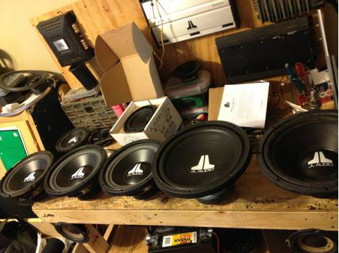 Tons of car audio - $50