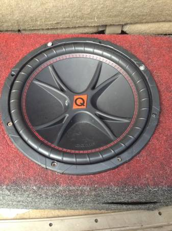 Subs and Amps - $25 (Shreveport)