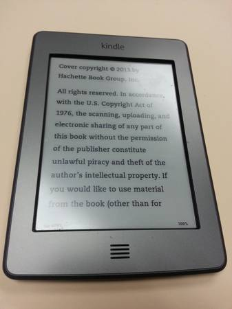 Kindle Reader with Touch - $65 (Shreveport)