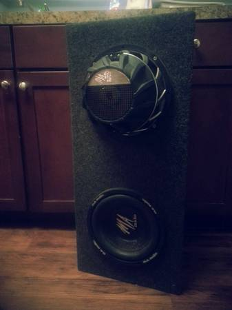 10 MA Audio subwoofers will Trade for PS3 (Bossier)
