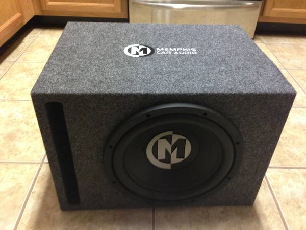 Memphis 12 sub w ported box, - $200 (Bossier City)