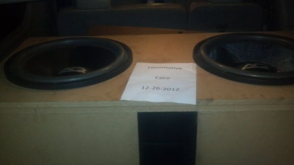 Two 18 inch Audioque HDC3 18 subwoofer - $480 (Shreveport )