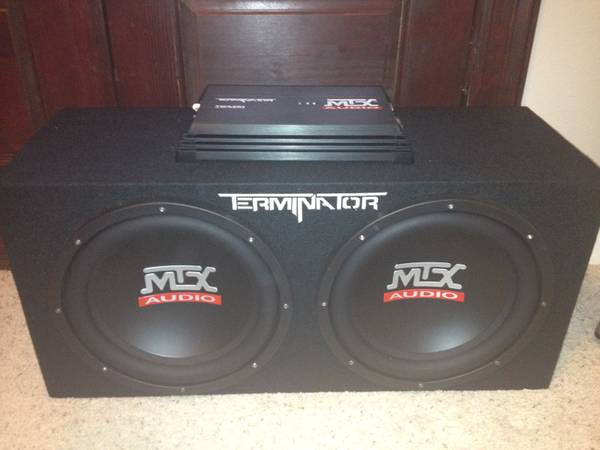 12 MTX Audio Terminator subs with box and - $200 (Benton)