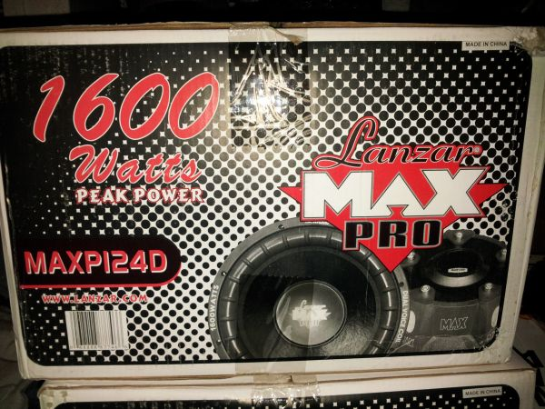 Lanzar Pro Max 12 Subs - $125 (South Bossier)