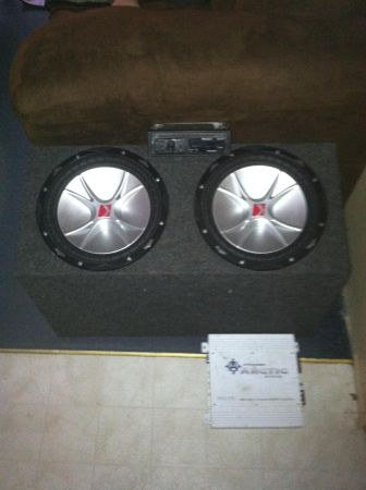 2 12 kicker cvr comps combo - $300 (Shreveport)