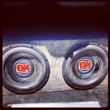 DX American bass 12 speakers - $200 (natchitoches )