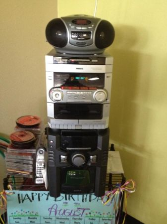 3 disc CD and cassette stereo system - $50 (South Highlands)
