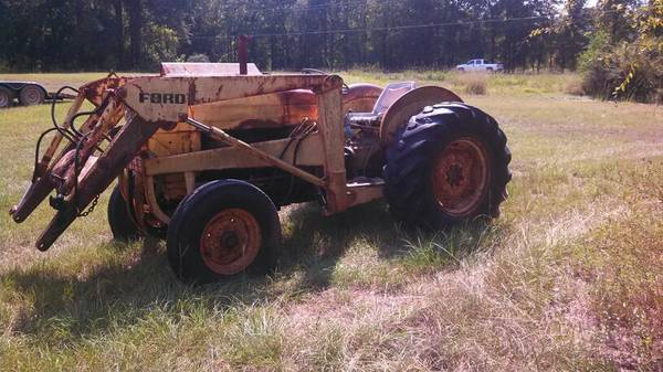 Ford Tractor 1500 Series : Ford tractor for sale