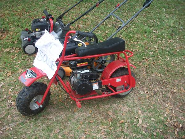 Baja Mini Bike - $350 (Shreveport)