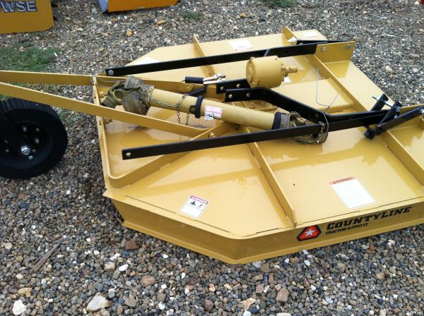 COUNTY LINE 5 ROTARY CUTTER - $850 (MINDEN,LA)