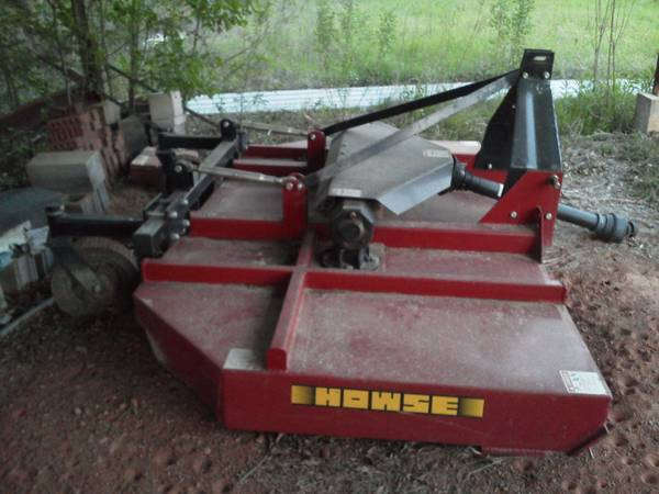 10ft. Howse heavy duty bush hog - $3000 (marshall, tx.)