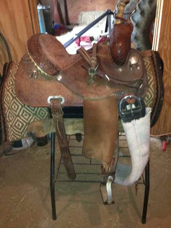 For Sale Martha Josey Barrel Saddle - $850 (Benton, La)
