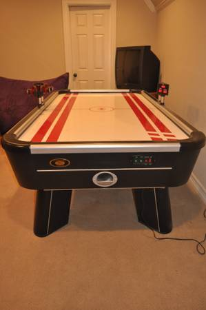 air hockey table -   x0024 75  North Bossier
