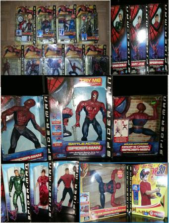 spiderman collectors -   x0024 400  princeton la