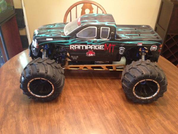 Redcat Racing Rampage MT V3 Radio Controlled Truck 1 5 Scale Gasoline  -   x0024 650  Keithville
