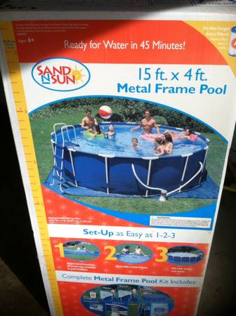 NEW  unopened  above ground POOL -   x0024 100  Shreveport Bossier City
